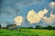 Country Scenes Prints - Bright Skies Print by Jan Amiss Photography