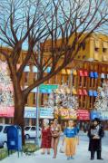 Diversity Paintings - Brighton Beach Memoirs by Leonardo Ruggieri