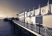 Hove Framed Prints - Brighton Pier Framed Print by Malc McHugh