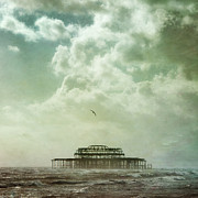 Paul Grand Art - Brighton seascape by Paul Grand