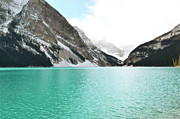 Lake Louise Photos - Brilliance of Louise by Andrea Hazel Ihlefeld