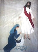 Forgiveness Paintings - Bring Me Your Brokenness by Patty  Thomas