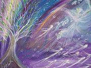 Angels Painting Originals - Bringing Life to the Nations by Wendy Smith