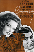 Cary Framed Prints - Bringing Up Baby, 1938 Framed Print by Granger