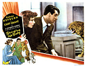 Films By Howard Hawks Framed Prints - Bringing Up Baby, Katharine Hepburn Framed Print by Everett