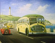 Devon Painting Framed Prints - Bristol L on Plymouth Hoe Framed Print by Mike  Jeffries
