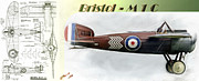 World War 1 Photos - Bristol M1C by Arne Hansen