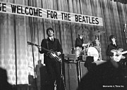 Beatles Photos - Britinvasion 1964 by Glenn McCurdy