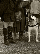 Kilt Posters - British Bulldog Poster by Scott Hovind