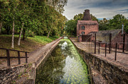 Moss Digital Art Prints - British Canal  Print by Adrian Evans