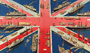 Colonies Framed Prints - British Empire Framed Print by Hugh Williams