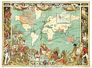 Teaching Guide Posters - British Empire Poster by Pg Reproductions