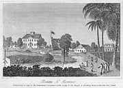 African-american Photo Framed Prints - British Guiana: Slavery Framed Print by Granger