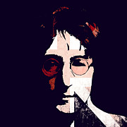 John Lennon  Art - British Idol by Stefan Kuhn