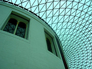 Postcard Suggestions Acrylic Prints - British Museum by Roberto Alamino