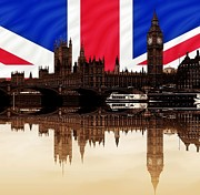 2012 Digital Art - British Politics by Sharon Lisa Clarke