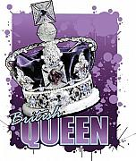 London England  Digital Art Originals - British Queen by Justo Terez Jr