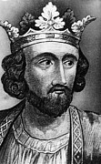 British Royalty Metal Prints - British Royalty. British King Edward I Metal Print by Everett
