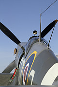 Spitfire Photos - British Spitfire by John Van Decker