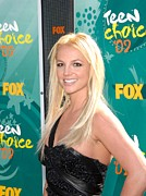 Britney Spears Prints - Britney Spears At Arrivals For Teen Print by Everett