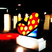 Midtown Art - #brito #heart #corazón #midtown #miami by Juan C Zulueta