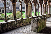Cathedral Prints - Brittany Cloister  Print by Olivier Le Queinec