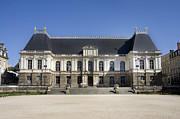 Regional Metal Prints - Brittany Parliament Metal Print by Jane Rix
