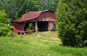 Tennessee Barn Prints - Broad Roofed Barn Print by Douglas Barnett