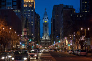 Philadelphia Metal Prints - Broad Street Metal Print by John Greim