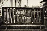 Broad Street Digital Art Posters - Broad Street Subway - Philadelphia Poster by Bill Cannon