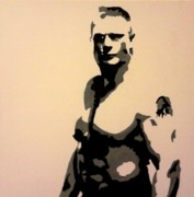Ufc Paintings - Brock Lesnar by Neil Roberts