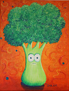 Brocolli Print by Jennifer Alvarez