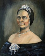 Mary Todd Lincoln Prints - Broken - Lincoln Portrait #9 Print by Daniel W Green