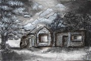 Building Mixed Media Originals - Broken Africa - Benoni2 by Monique Van Wyk