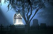 Cemetery Prints - Broken Angel  Print by Peter Piatt