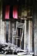 Chair Art - Broken by Dana  Oliver