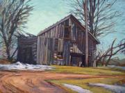 Old Farm Shed Originals - Broken Down by Dale Knaak
