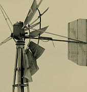 Windmill Framed Prints - Broken Down Windpump Framed Print by Robert Frederick