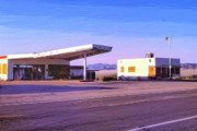 Service Station Paintings - Broken Dreams by Dominic Piperata