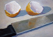 Vitamins Paintings - Broken Egg Shells by Joyce Geleynse