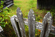 Barkerville Photos - Broken Fences by Wayne Stadler