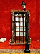 Broken Lamp Post Print by Olden Mexico