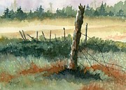 Country Painting Originals - Broken by Marsha Elliott