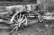 Wagon Wheel Prints - Broken Past Print by Greg and Chrystal Mimbs