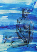 Nudes Drawings Originals - Broken Promise by Peggi Habets