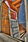 High Dynamic Range Photos - Broken Window by Peter Tellone