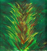 Bromeliad Originals - Bromeliad Alight by Renu Anne