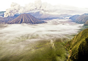Park Scene Posters - Bromo Volcano Crater Poster by Photography by Daniel Frauchiger, Switzerland