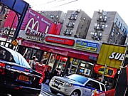 Mcdonalds Prints - Bronx Afternoon Print by Sarah Loft