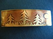 Hair Jewelry Originals - Bronze barrette by Marilyn Bohanan